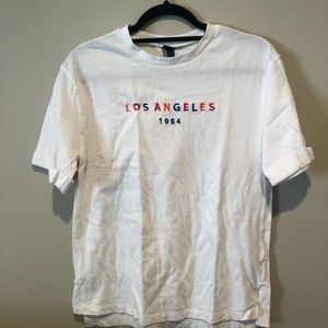 Wild Fable Rainbow Los Angeles White T-Shirt